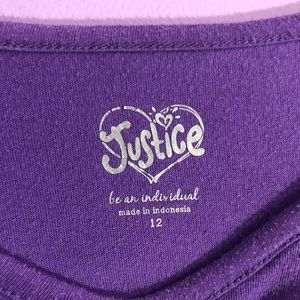 Justice Shirts & Tops - Justice shirt, girls size 12
